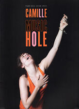 """CAMILLE """"Music Hole""""12 titres,Piano,Vocal,Guitar,Lyrics (PARTITIONS/SHEET MUSIC)"""