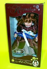 MARIE OSMOND HERSHEY'S KISSES 100 YEAR ANNIVERSARY PORCELAIN DOLL 10""