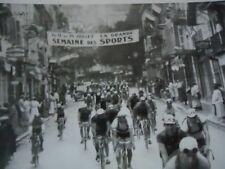 TOUR DE FRANCE 1936 PHOTO ETAPE AIX GRENOBLE LESUEUR ET MEULENBERG PELOTON