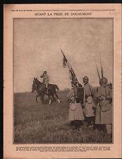 WWI Poilus Prise de Douaumont /Général Marjoulet Bataille Yser 1916 ILLUSTRATION