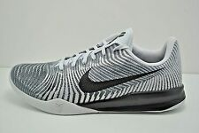 Mens Nike KB Mentality II Kobe Basketball Shoes Size 9.5 Grey Black 818952 100