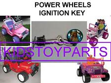 "BARBIE POWER WHEELS IGNITION KEY FOR THE DASHBOARD WITH 5/8"" DIAMETER CYLINDER"