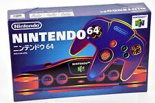 Console Nintendo 64 Black System Japan