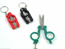 Novelty Miniature Keyring Folding Scissors Handy Useful item Great For Travel