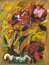 STEVEN MILLER 1971 MODERN PAFA NEWMAN GALLERY EXPRESSIONIST STILL LIFE PAINTING