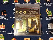ICO & Shadow of the Colossus Collection BRAND NEW  (Sony PlayStation 3, 2011)