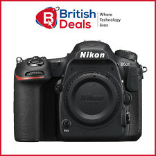Nikon D500 24.9 MP CMOS 4K Digital SLR Camera Body WiFi NFC Bluetooth - UK Stock