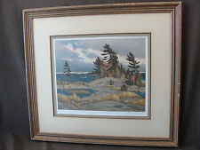 Vintage Frank Shirley Panabaker WINDY ISLAND Signed Limited