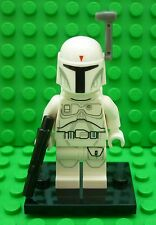 Lego Star Wars Minifigure - Genuine White Boba Fett (Encyclopedia Exclusive)