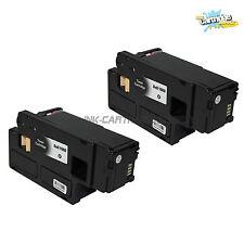 2Pack Dell 1660 Black Toner For Dell C1660 C1660W C1660CNW Printer