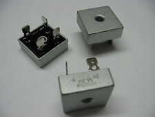 Lot x2: pont de diodes 35A 1000V MB3510 KBPC3510 sorties cosses fast on 6.35mm