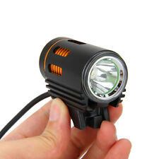 CREE XM-L2 LED 3000LM Cycling Head Front Bike Lamp Torch Headlight Black+Gold UK