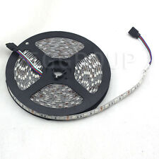 5M 300LED SMD 5050 RGB Waterproof Flexible Strip Light Car 12V 16.4ft Lamp Tape