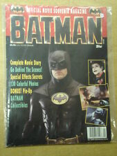 BATMAN MOVIE SOUVENIR VG TOPPS US MAGAZINE JOKER BATMOBILE