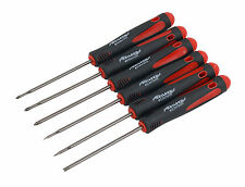 6pc Precision Screwdriver Set - Flat 2.0mm 2.5mm 3.0mm - Phillips 0 00 000 Sizes