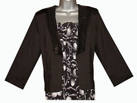 BLACK SEQUINNED LAPEL EDGE TO EDGE SHORT JACKET HALF PRICE