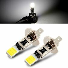 2x H1 COB LED White Fog Driving Parking Light Lamp Bulbs Car