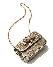 Christian Louboutin Sweet Charity Laser Egypt Bag, $1,610 NEW WITH TAGS