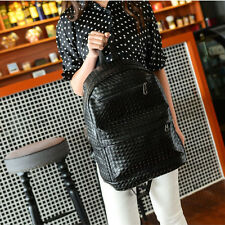 New Fashion Women Girl Lady PU Leather Backpack Shoulder Bag Satchel Backbag C12