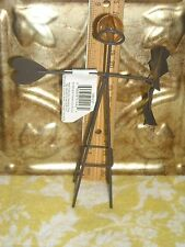 NWT RUSTIC METAL WINDMILL miniature Fairy, Gnome, Hobbit  Garden