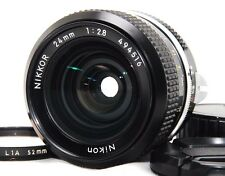 Nikon Nikkor 24mm f/2.8 Non-Ai Wide Lens w/Filter from JAPAN