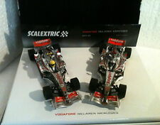 qq 6325 SCALEXTRIC PACK VODAFONE Mc LAREN MERCEDES MP4/22  n1 ALONSO n2 HAMILTON