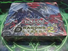 Yu-Gi-Oh Dragons of Legend 2 1st Edition 24 packs (120 cards) New & Sealed