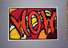 """Moderne tapisserie: manuel unique """"wow!"""" sampler en gris mount"""