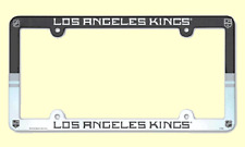 NHL® Los Angeles Kings Multicolor Plastic License Plate Holder TEAM BOOSTER