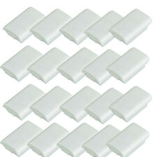 20x New White Battery Pack Cover Shell Case Kit for Xbox 360 Wireless Controller