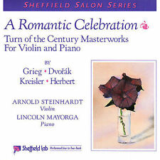 A Romantic Celebration: Turn of the Century Masterworks For Violin and Piano, Ar