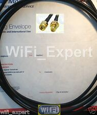 RFC195 3M (10 Feet) WiFi Antenna RP-SMA Extension Cable WiFi Wi-Fi Router WiFi