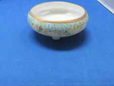 RIS Germany Hanpainted Footed Candy / Mint Dish from Estate  No Reserve!