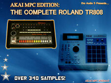 ROLAND TR808 - 340+ SAMPLES - Akai MPC2000 XL Format - ZIP DISK