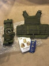 Eagle Industries Land CIRAS Vest Ranger Green LE  Medium FBI DEA RLCS Rangers