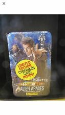 Dr Doctor who trading cards alien armies tin B limited edition cyberman Topps 1