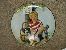 Kittens For Sale Collector Plate by John McClelland in The World of Children