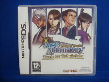 ds ACE ATTORNEY Phoenix Wright Trials And Tribulations Lite DSi 3DS Nintendo PAL