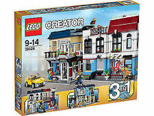 LEGO Creator Bike Shop & Café (31026) 1023 pieces *BRAND NEW SEALED* FAST SHIP!