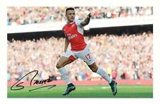 ALEXIS SANCHEZ - ARSENAL AUTOGRAPHED SIGNED A4 PP POSTER PHOTO
