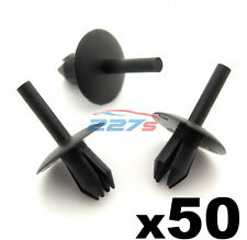 50x Plastic Trim Clip Rivets, Fit a 5.5mm hole, FIX103, Fits some Ford,