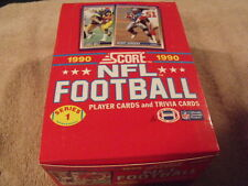 1990 SCORE - NFL Football Factory Box - Series 1 - Marino, Elway, Montana, Sande