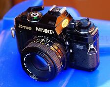 Minolta X700 35mm SLR Film  camera with md 50mm F1.7 prime lens.