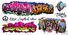 HO Scale Custom Graffiti Decals #47 - Weather Your Box Cars, Hoppers, & Gondolas
