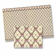 Dollhouse Gofrado Decorative Wallpaper by World Model