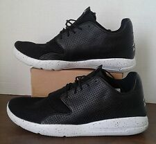 NEW NIKE MEN'S BLACK/WHITE PURE PLATINUM JORDAN ECLIPSE SHOE SIZE 12 724010 012