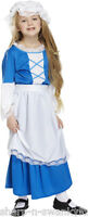Girls Tudor Victorian Historical Book Day Fancy Dress Costume Outfit 4-12 years