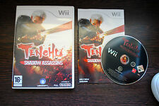 Jeu TENCHU SHADOW ASSASSINS pour Nintendo Wii PAL COMPLET (CD OK)