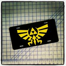 TRIFORCE - LEGEND OF ZELDA CUSTOM LICENSE PLATE / CAR TAG