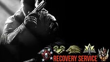 PS3 Black Ops 2 Recovery's (Max Rank,Unlock All,Modded Accounts)Read Description